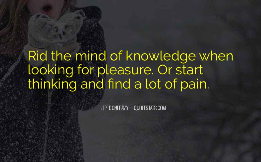 J.P. Donleavy Quotes #1509889