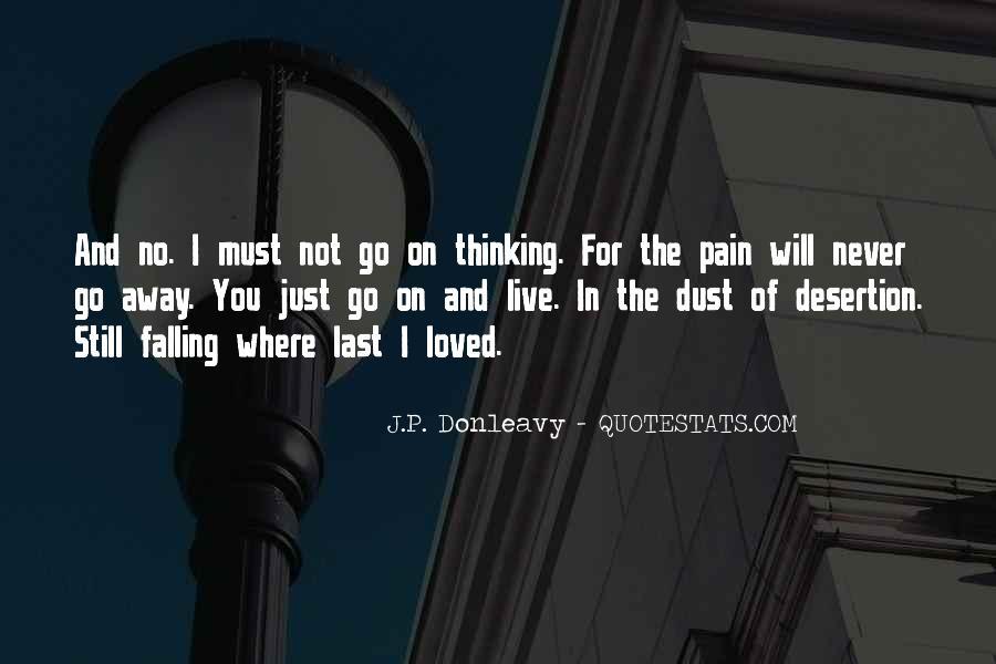 J.P. Donleavy Quotes #1631246