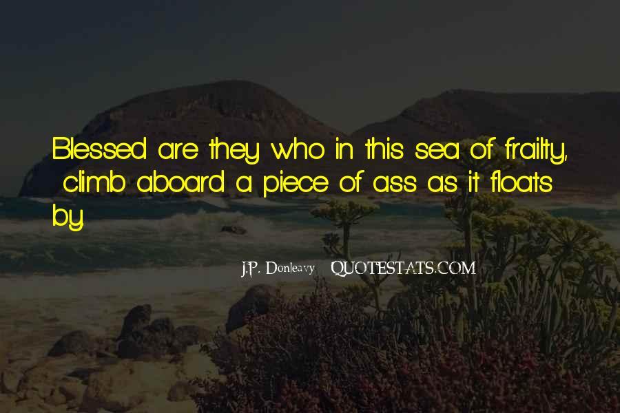 J.P. Donleavy Quotes #246661