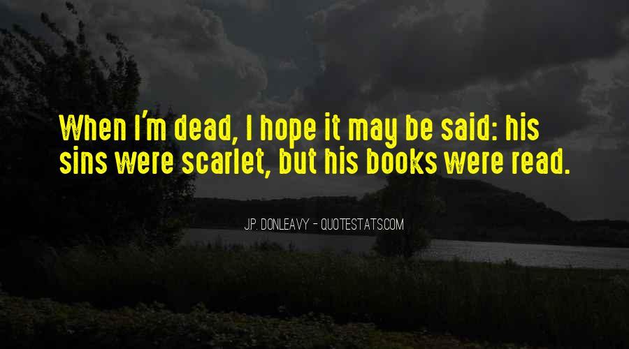 J.P. Donleavy Quotes #783159