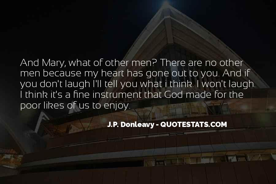 J.P. Donleavy Quotes #831638