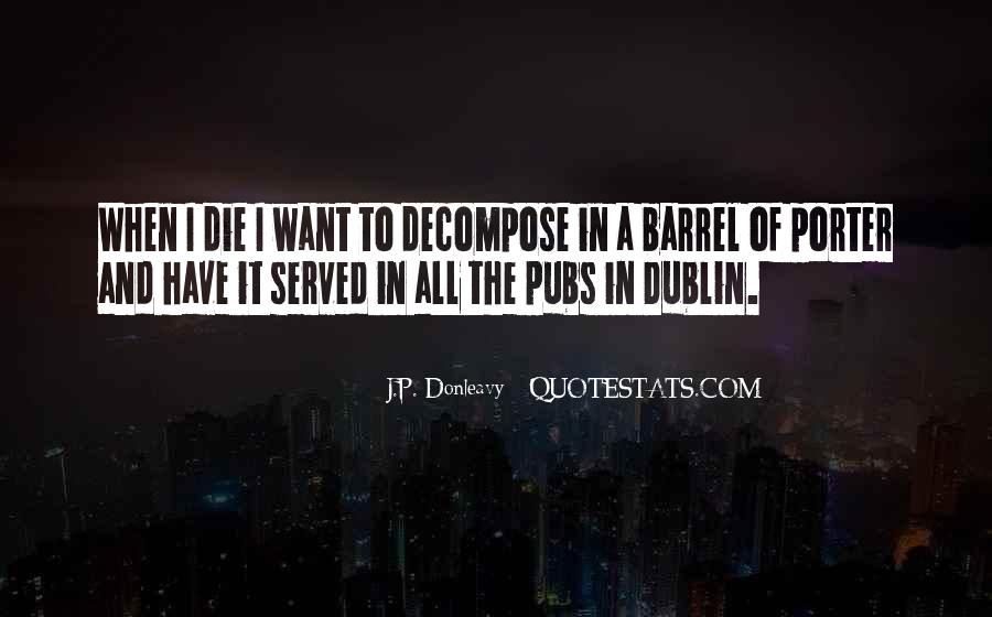 J.P. Donleavy Quotes #890020