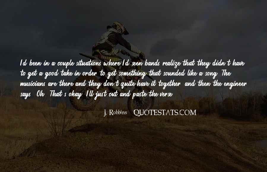 J. Robbins Quotes #1343750