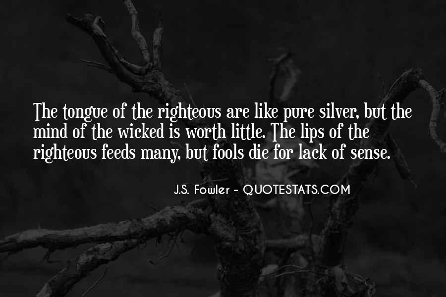 J.S. Fowler Quotes #347640