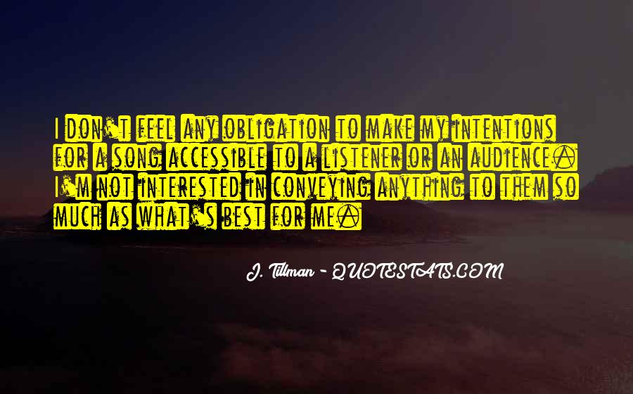 J. Tillman Quotes #1553680