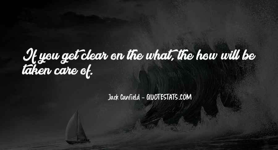 Jack Canfield Quotes #543931