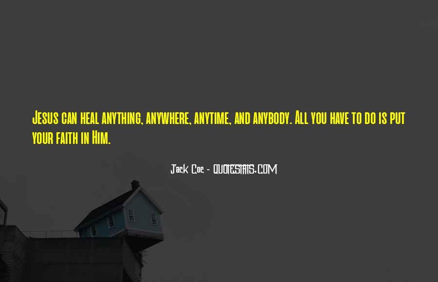 Jack Coe Quotes #1443942