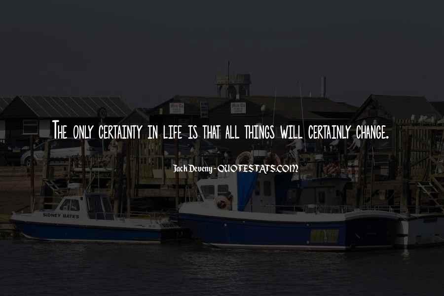 Jack Deveny Quotes #810800