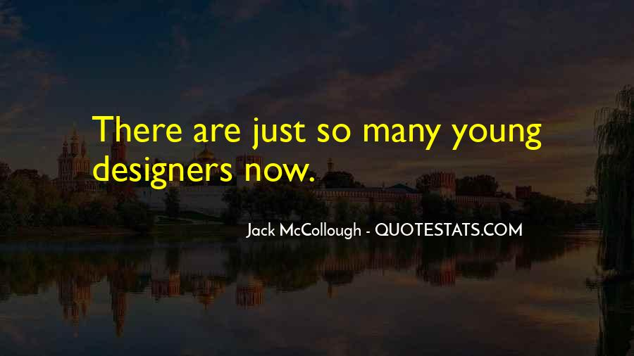 Jack McCollough Quotes #453372
