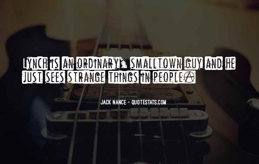 Jack Nance Quotes #441720