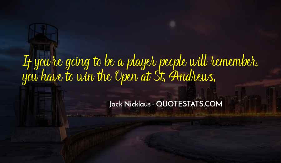 Jack Nicklaus Quotes #1036739