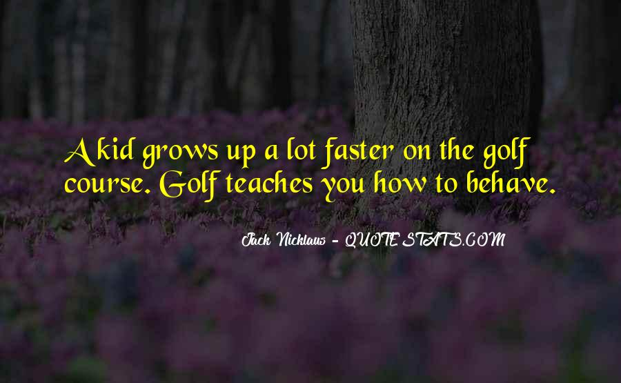 Jack Nicklaus Quotes #1052773
