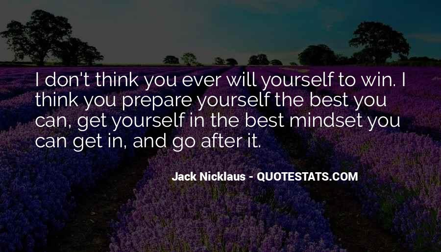 Jack Nicklaus Quotes #117648