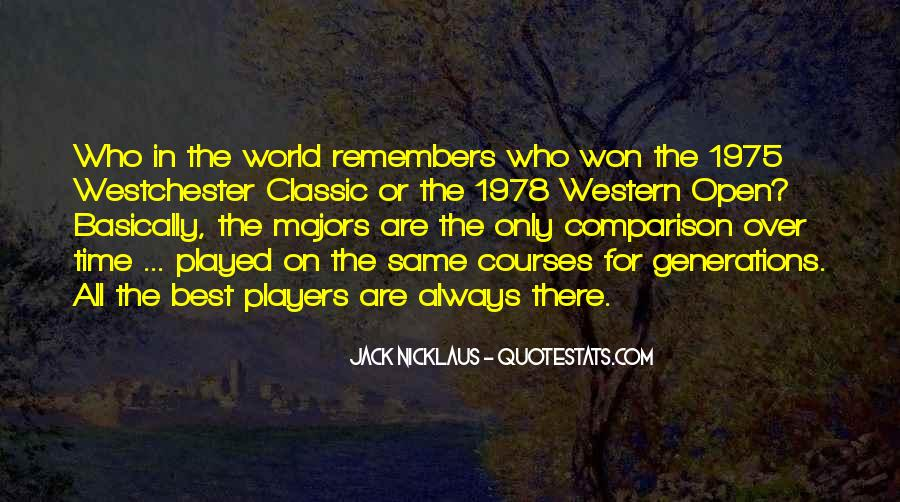 Jack Nicklaus Quotes #1336515
