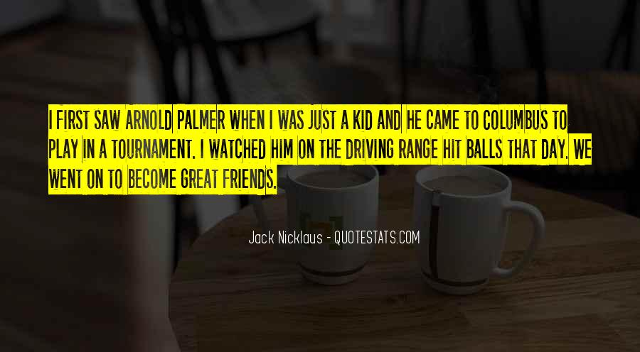 Jack Nicklaus Quotes #1353955