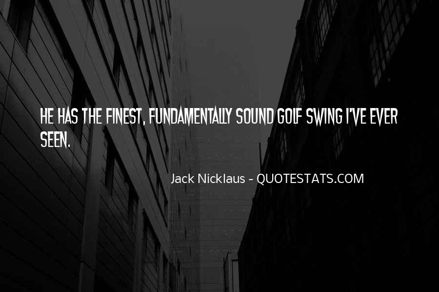 Jack Nicklaus Quotes #1711414