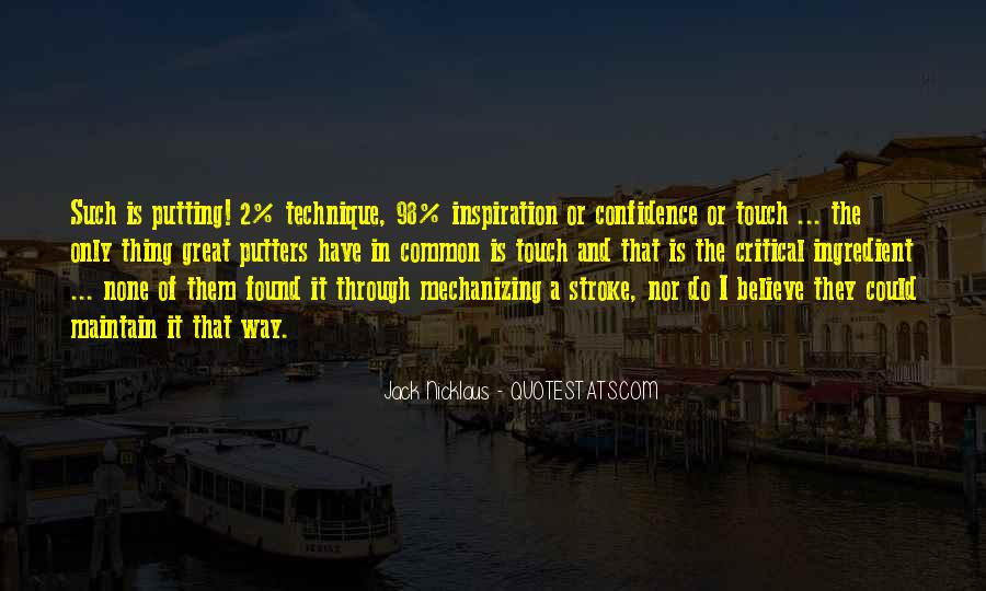 Jack Nicklaus Quotes #176229