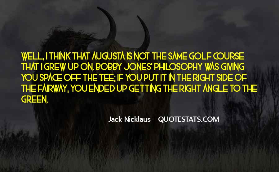 Jack Nicklaus Quotes #1872693