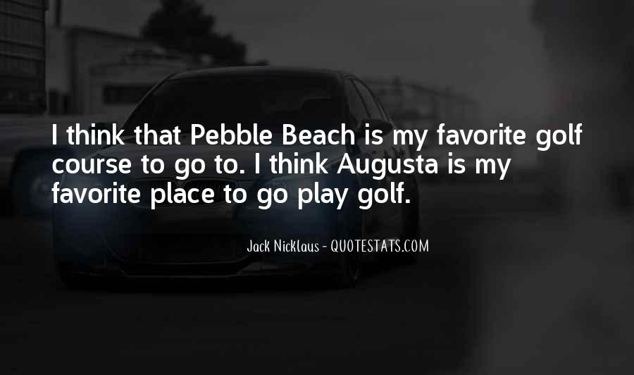 Jack Nicklaus Quotes #692160