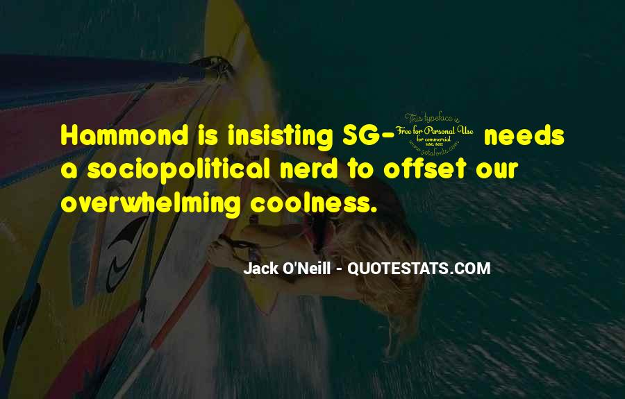 Jack O'Neill Quotes #1819434