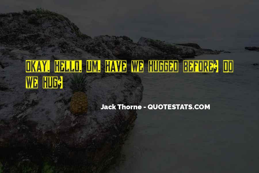 Jack Thorne Quotes #1126279