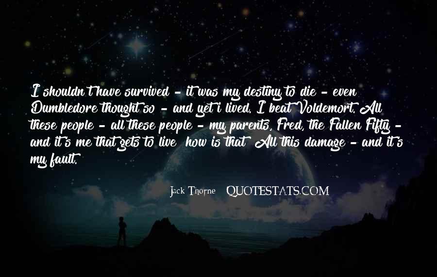 Jack Thorne Quotes #1593072