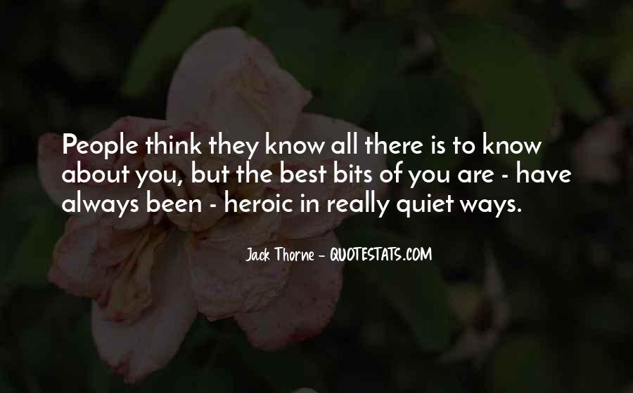 Jack Thorne Quotes #295556