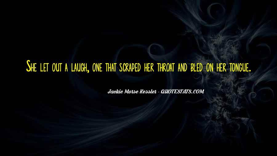 Jackie Morse Kessler Quotes #160070