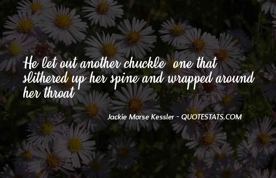 Jackie Morse Kessler Quotes #563131