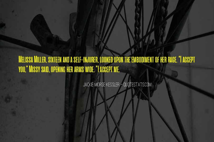 Jackie Morse Kessler Quotes #995724