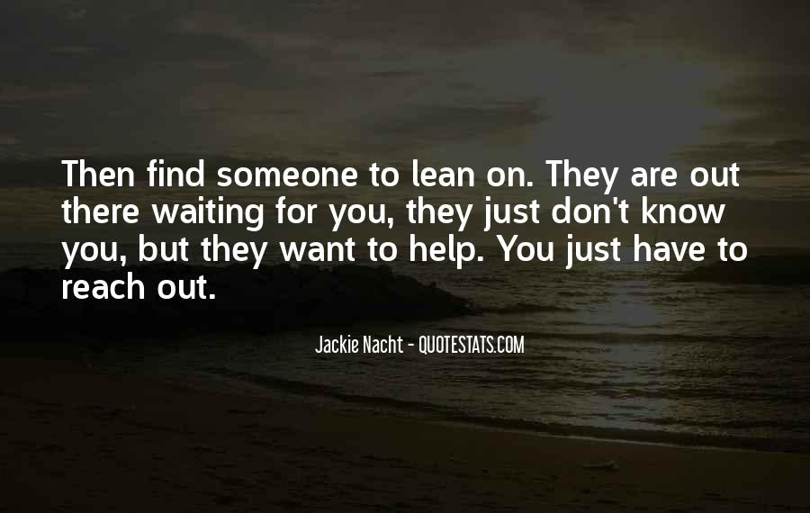Jackie Nacht Quotes #630894