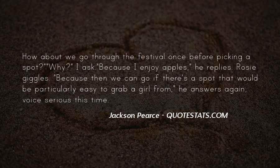 Jackson Pearce Quotes #199886