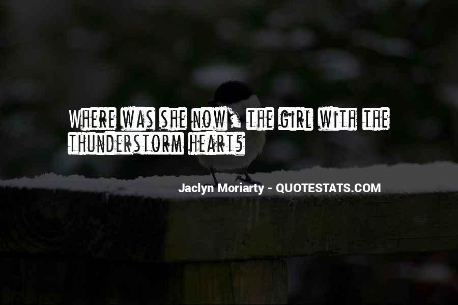 Jaclyn Moriarty Quotes #1574328