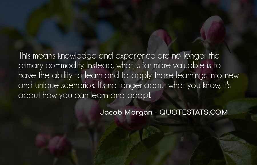 Jacob Morgan Quotes #1773051