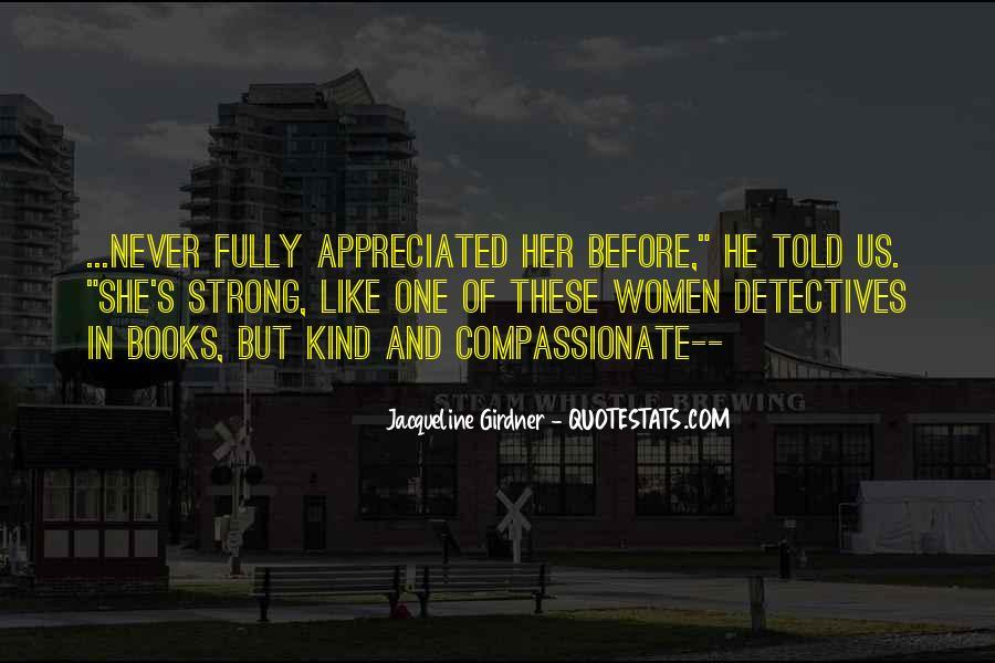 Jacqueline Girdner Quotes #922316