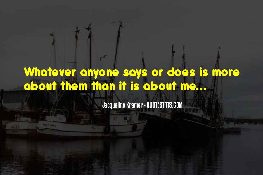 Jacqueline Kramer Quotes #356673