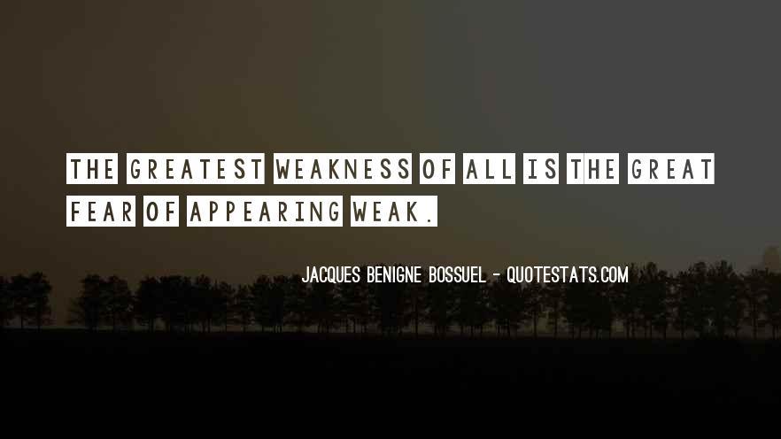 Jacques Benigne Bossuel Quotes #217426