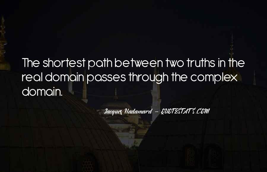 Jacques Hadamard Quotes #1334791