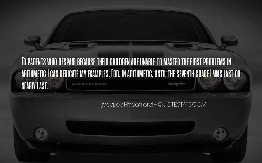 Jacques Hadamard Quotes #1627265