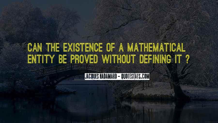 Jacques Hadamard Quotes #1651924