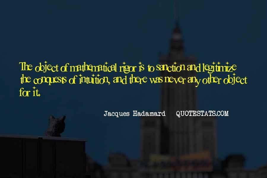Jacques Hadamard Quotes #1876404