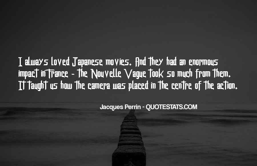 Jacques Perrin Quotes #736063