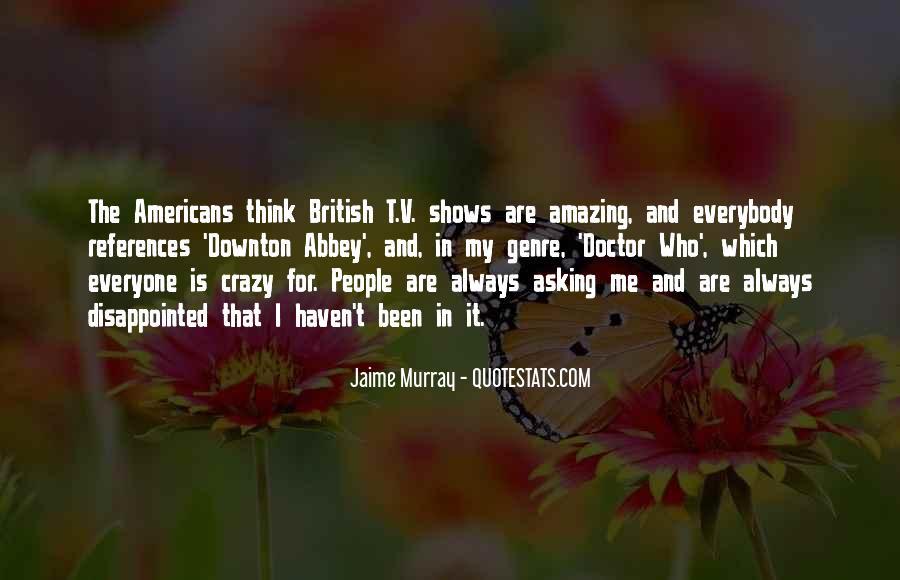 Jaime Murray Quotes #491999