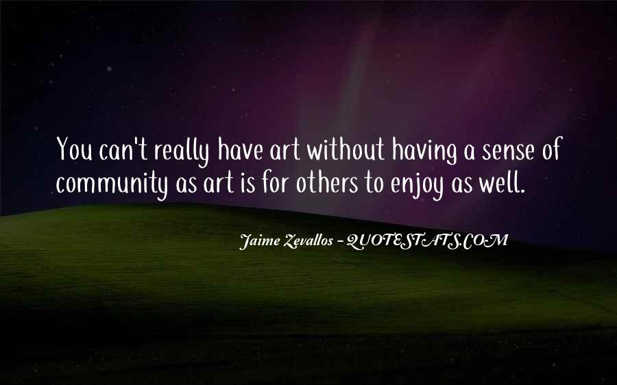 Jaime Zevallos Quotes #17160