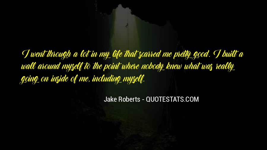 Jake Roberts Quotes #1048279