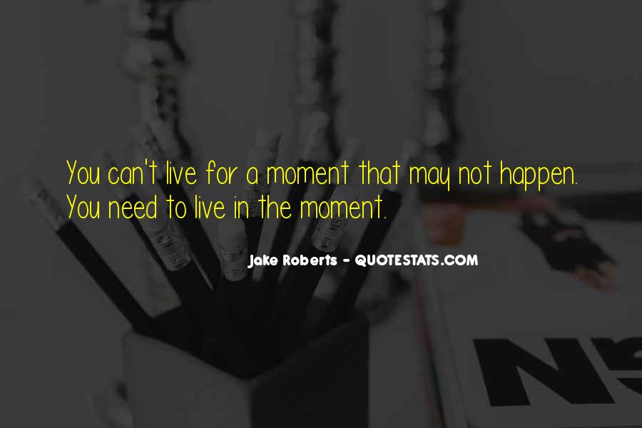 Jake Roberts Quotes #1848995