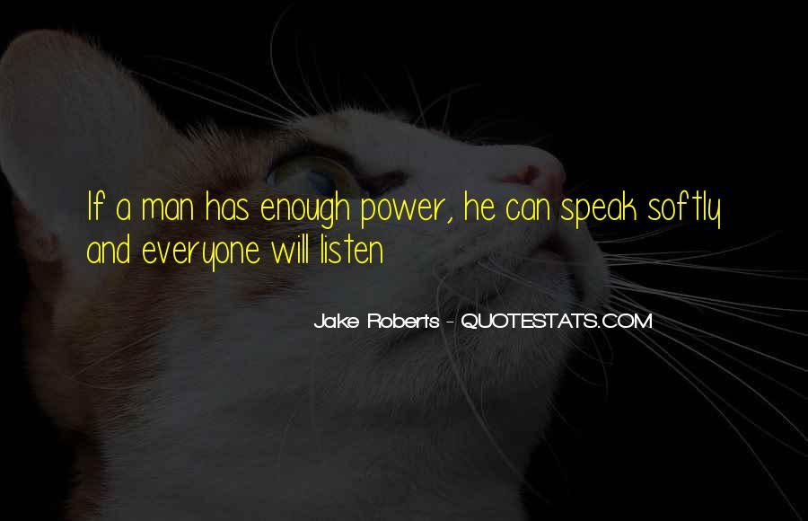 Jake Roberts Quotes #30593