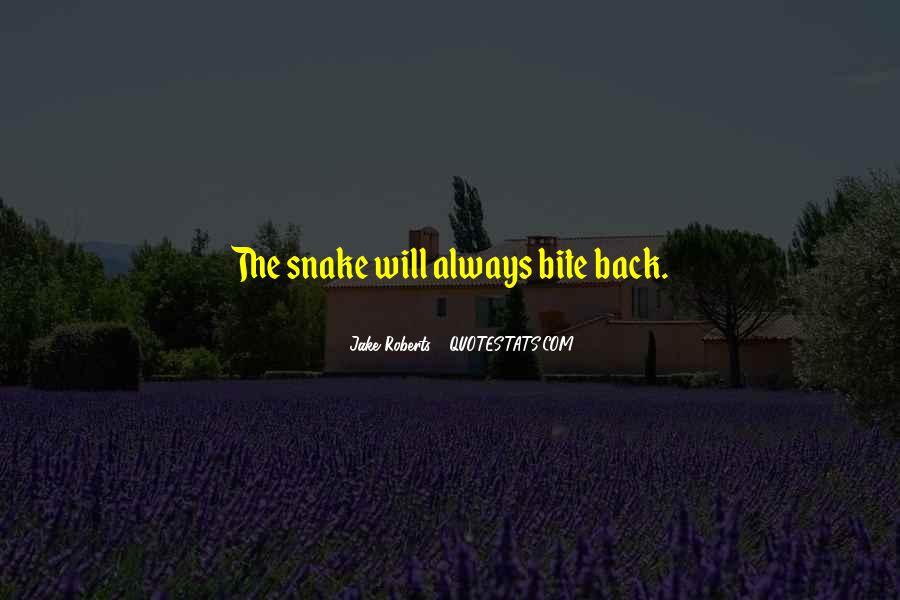 Jake Roberts Quotes #387629