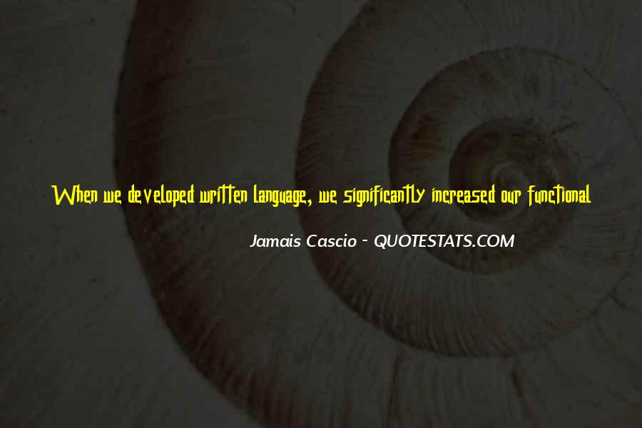 Jamais Cascio Quotes #1283917