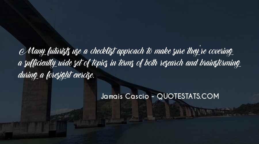 Jamais Cascio Quotes #1741984